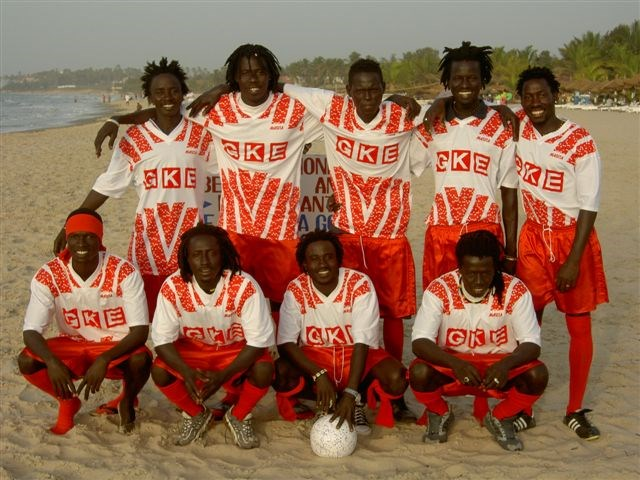 Voetbalteam Gambia